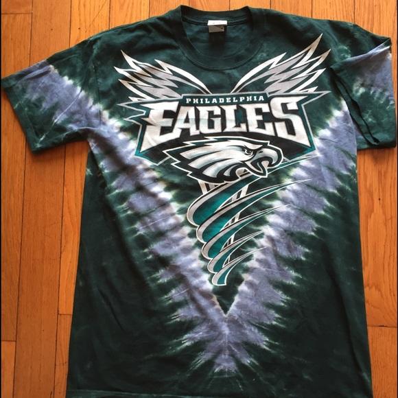 3e27a497 PHILADELPHIA EAGLES V Tie Dye T-Shirt. M_5b492c99aa5719ec48a0315a